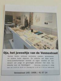 Artikel Oja Juweeltje van de Vennestraat