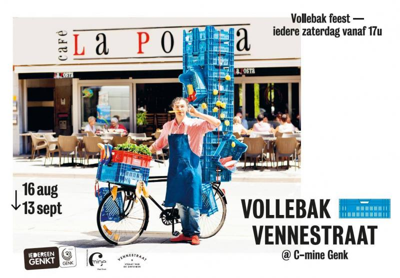 Vollebak Vennestraat – 16 aug. – 13 sept. 2014